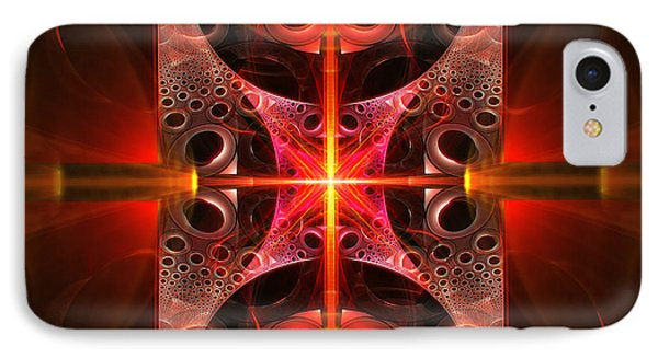 Fractal - Science - Cold Fusion Phone Case by Mike Savad