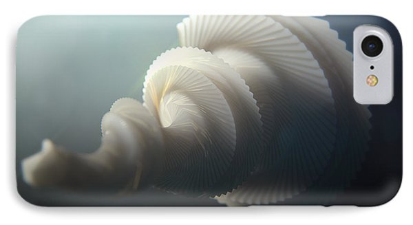 Fractal Seashell  IPhone Case by Pixel  Chimp