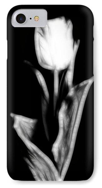 Fractal Tulip IPhone Case