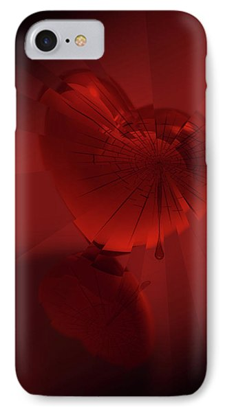 IPhone Case featuring the digital art Fracture II by Jeremy Martinson