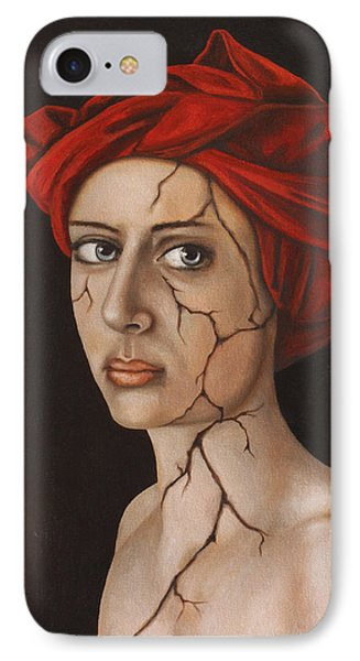 Fractured Identity Edit 1 Phone Case by Leah Saulnier The Painting Maniac