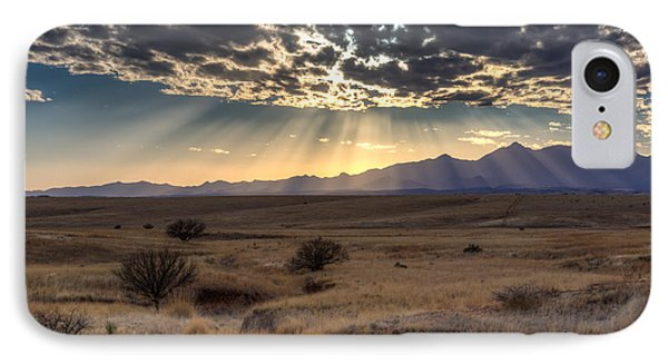 IPhone Case featuring the photograph Fractured Sky by Beverly Parks