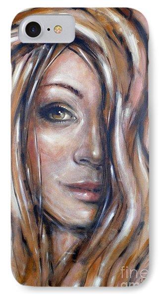 Fragile Smiles 230509 Phone Case by Selena Boron