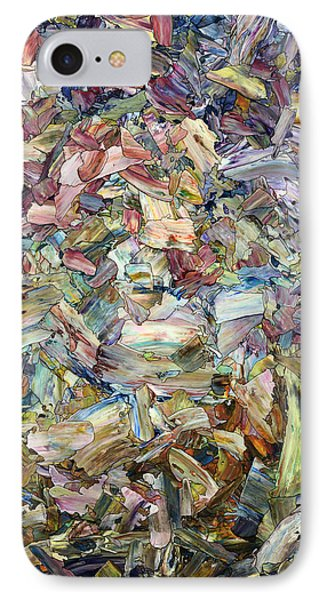 Roadside Fragmentation IPhone Case by James W Johnson