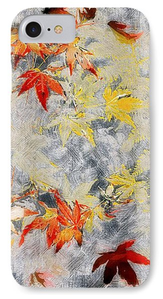 Fragments Of Fall Phone Case by RC deWinter