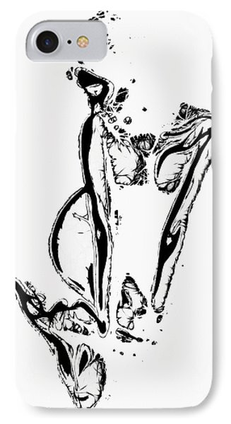 Fragments IPhone Case by Steve K