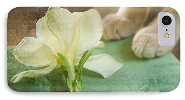 Fragrant Gardenia IPhone Case by Kim Henderson