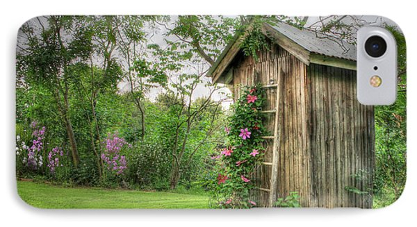 Fragrant Outhouse Phone Case by Lori Deiter
