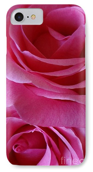 Face Of Roses 3 IPhone Case by Gem S Visionary
