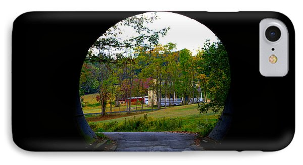 Framed By A Tunnel IPhone Case