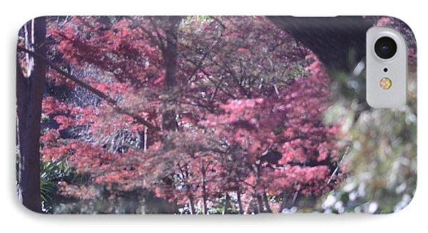 Framed Foliage IPhone Case