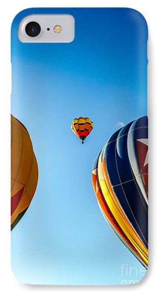 Framed Hot Air Balloon IPhone Case by Robert Bales
