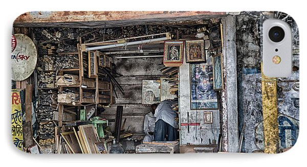 Framed IPhone Case by John Hoey