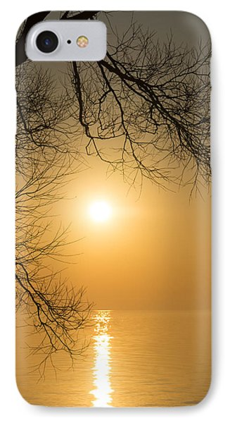 Framing The Golden Sun Phone Case by Georgia Mizuleva