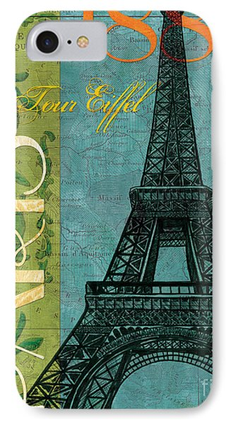 Paris iPhone 7 Case - Francaise 1 by Debbie DeWitt