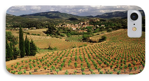France, Darban-corbieres, Aude IPhone Case by David Barnes