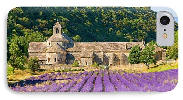 France, Gordes Cistercian Monastery IPhone Case