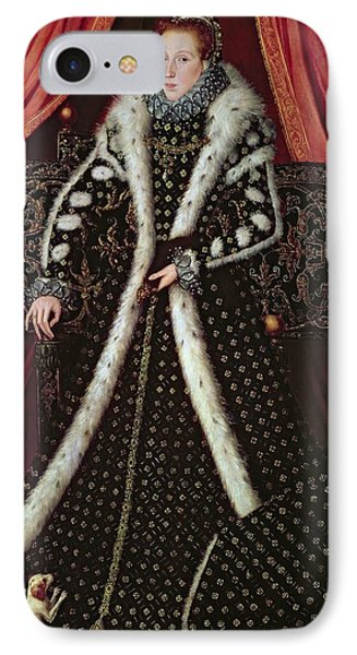 Frances Sidney, Countess Of Sussex, C.1565 Panel IPhone Case by or Muelen, Steven van der Meulen