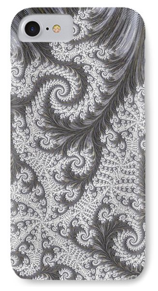 Franciful Frost  Phone Case by Heidi Smith