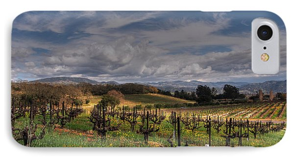 Francis Ford Coppola Winery IPhone Case by Jacklyn Duryea Fraizer