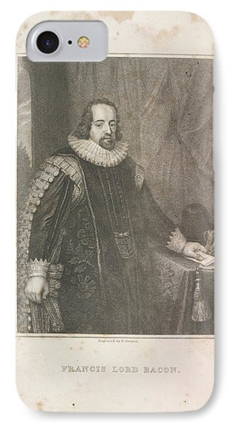 Francis Lord Bacon IPhone Case by British Library