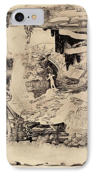 Francis Scott King, Printers Devil, American IPhone Case by Quint Lox
