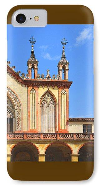 Franciscan Monastery In Nice France Phone Case by Ben and Raisa Gertsberg