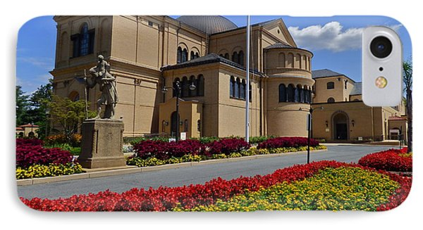 Franciscan Monastery In Washington Dc Phone Case by Jean Wright