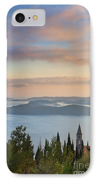 Orebic Monastery IPhone Case by Rod McLean