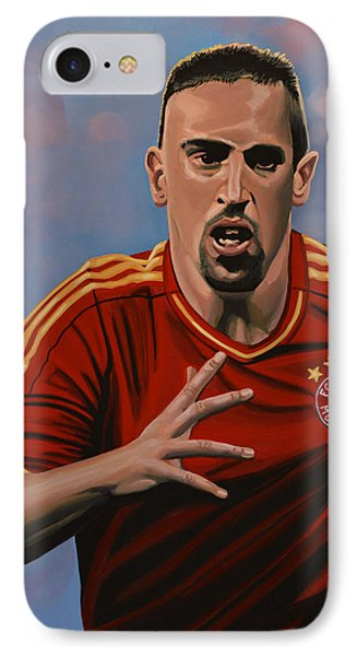 Franck Ribery IPhone Case by Paul Meijering