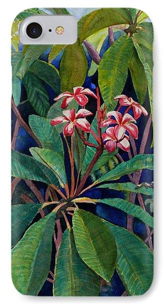 Frangipani IPhone Case by Susan Duda