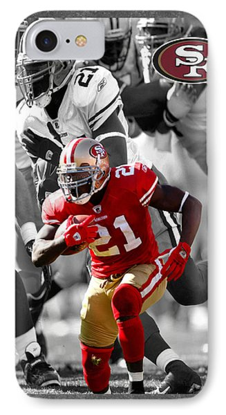Frank Gore 49ers Phone Case by Joe Hamilton