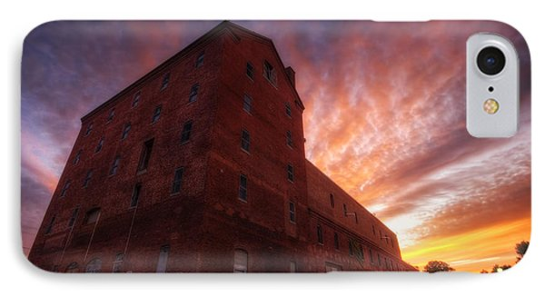 Frank Jones Brewery Sunset IPhone Case by Eric Gendron