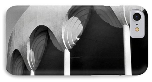 Frank Lloyd Wright Designed Auditorium Detail Phone Case by Karyn Robinson