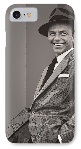 Frank Sinatra IPhone Case by Daniel Hagerman