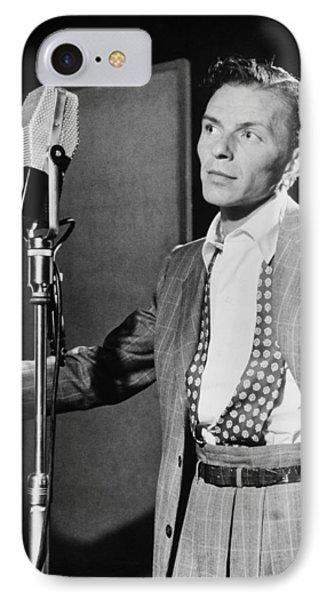 Frank Sinatra IPhone Case by Georgia Fowler