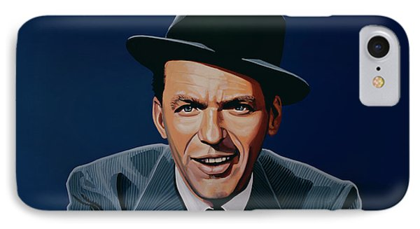 Frank Sinatra IPhone 7 Case by Paul Meijering