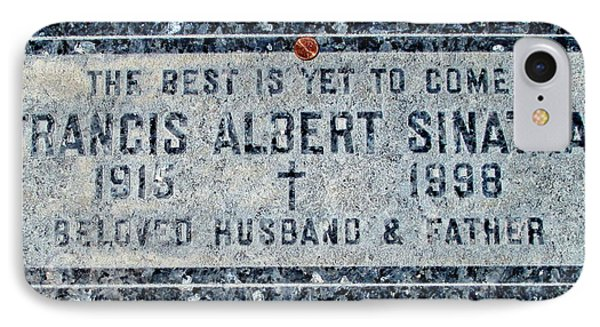 Frank Sinatra's Grave 2 IPhone Case