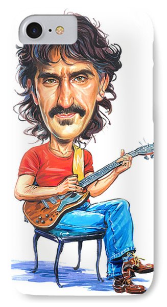 Frank Zappa IPhone Case by Art