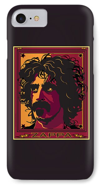 Frank Zappa Phone Case by Larry Butterworth