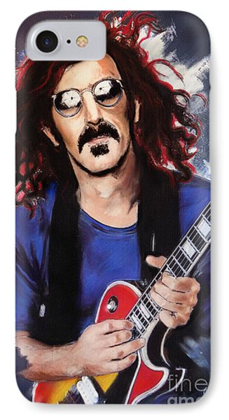 Frank Zappa IPhone Case by Melanie D
