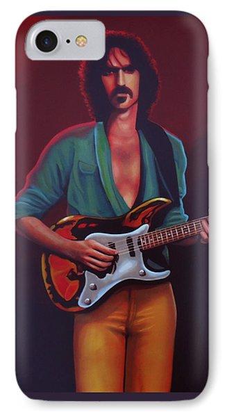 Frank Zappa IPhone Case by Paul Meijering