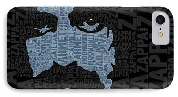 Frank Zappa  IPhone Case by Tony Rubino