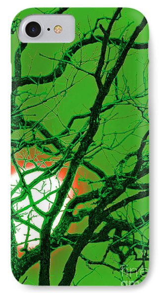 Frankenstein Moon IPhone Case by First Star Art