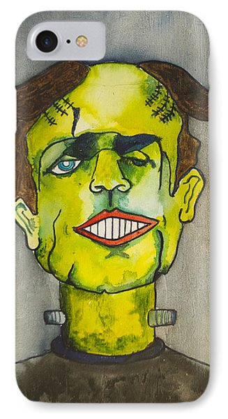 Frankensteins Monster As Tillie Phone Case by Patricia Arroyo