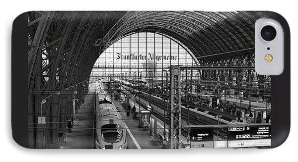 Frankfurt Bahnhof IPhone Case