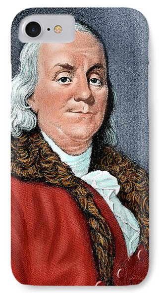 Franklin, Benjamin (1706-1790 IPhone Case