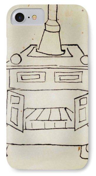 Franklin Phone Case by Erika Chamberlin
