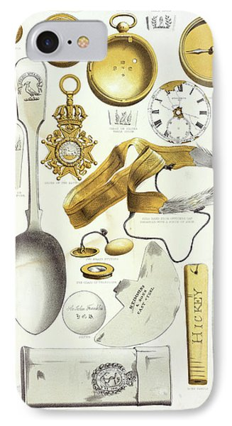 Franklin Expedition Relics IPhone Case