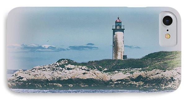 Franklin Island Lighthouse Phone Case by Karol Livote